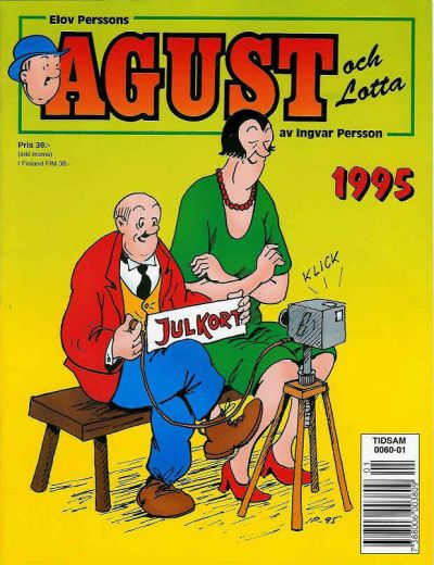Cover for Agust och Lotta [julalbum] (1988 series) #1995