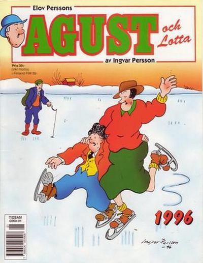 Cover for Agust och Lotta [julalbum] (Semic, 1988 series) #1996