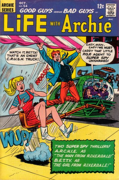 Cover for Life with Archie (Archie, 1958 series) #54