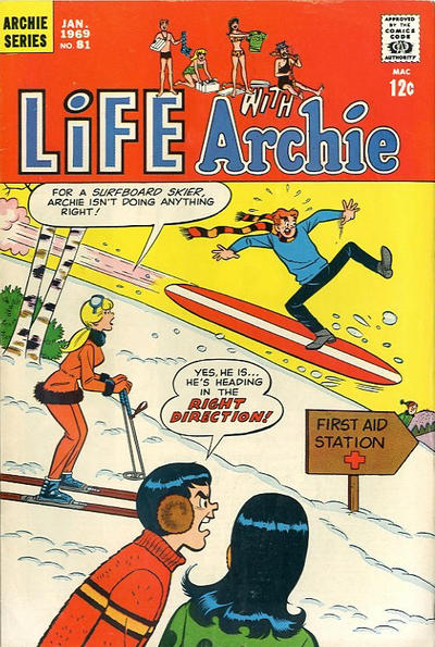 Cover for Life with Archie (Archie, 1958 series) #81