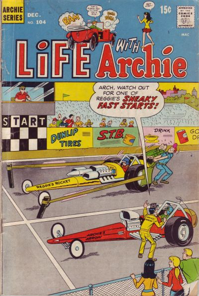 Cover for Life with Archie (Archie, 1958 series) #104