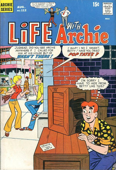 Cover for Life with Archie (Archie, 1958 series) #112