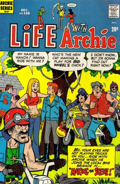 Cover for Life with Archie (Archie, 1958 series) #128
