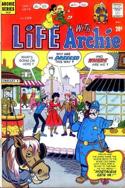 Cover for Life with Archie (Archie, 1958 series) #129