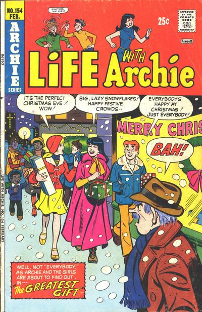 Cover for Life with Archie (Archie, 1958 series) #154