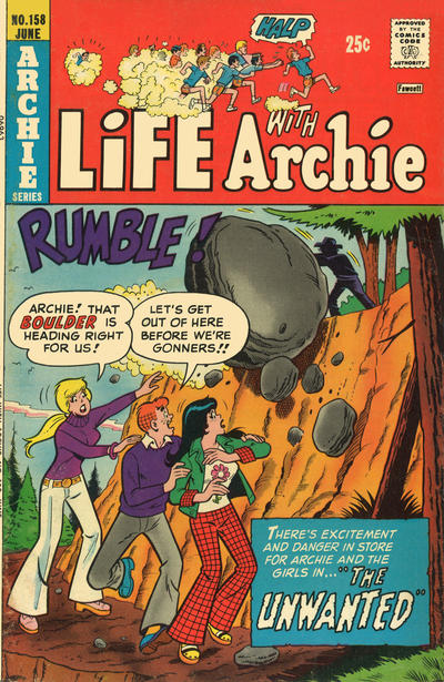 Cover for Life with Archie (Archie, 1958 series) #158