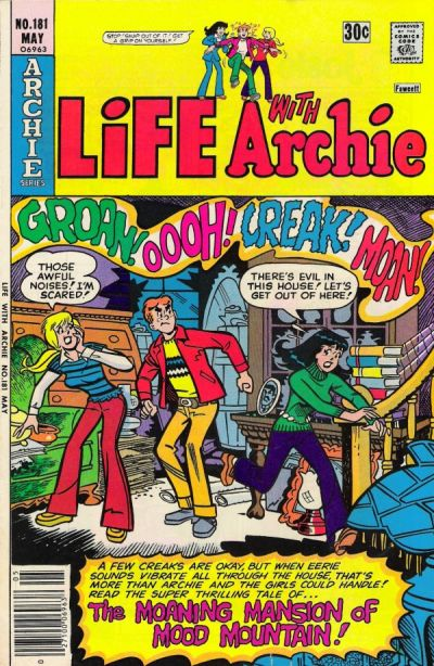 Cover for Life with Archie (Archie, 1958 series) #181