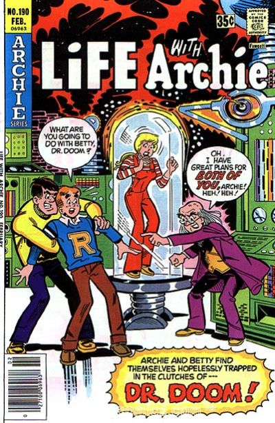 Cover for Life with Archie (Archie, 1958 series) #190