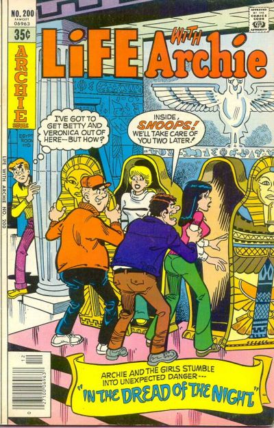 Cover for Life with Archie (Archie, 1958 series) #200