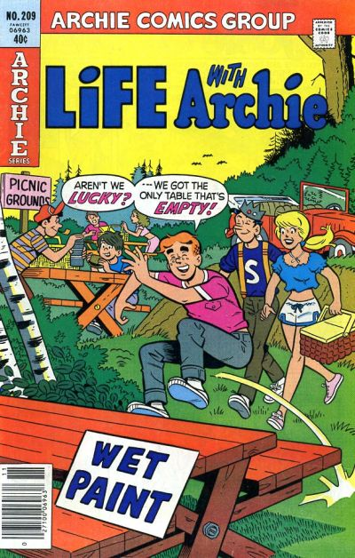Cover for Life with Archie (Archie, 1958 series) #209