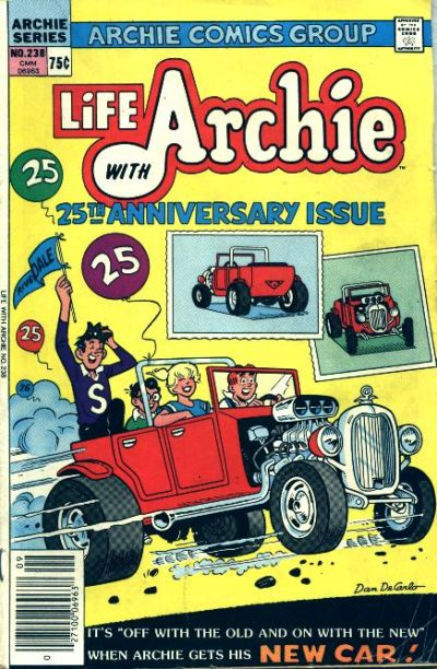 Cover for Life with Archie (Archie, 1958 series) #238