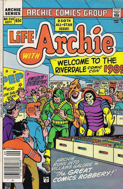 Cover for Life with Archie (Archie, 1958 series) #250