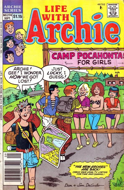 Cover for Life with Archie (Archie, 1958 series) #274