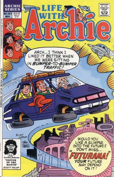 Cover for Life with Archie (Archie, 1958 series) #281