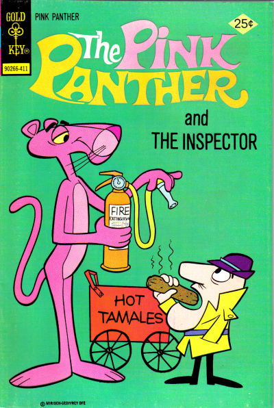 Cover for The Pink Panther (1971 series) #23