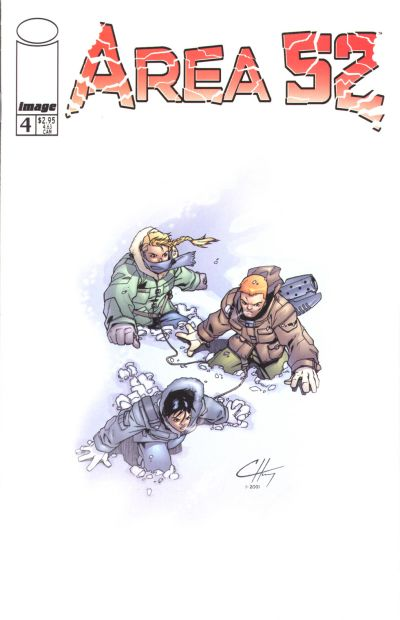 Cover for Area 52 (Image, 2001 series) #4