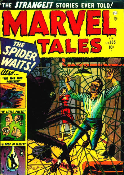 Cover for Marvel Tales (Marvel, 1949 series) #105