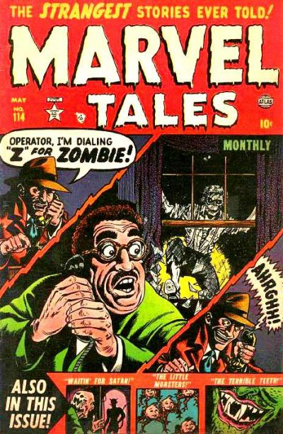 Cover for Marvel Tales (Marvel, 1949 series) #114