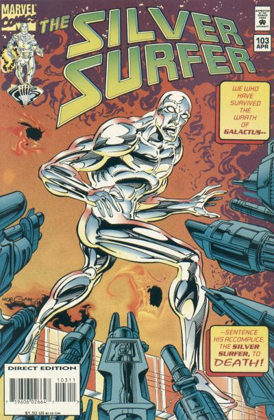 Cover for Silver Surfer (Marvel, 1987 series) #103