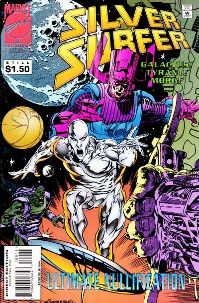 Cover for Silver Surfer (1987 series) #109