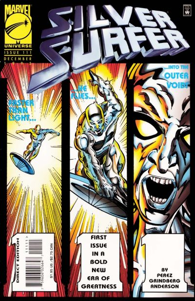 Cover for Silver Surfer (Marvel, 1987 series) #111