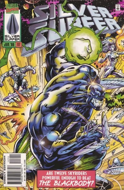 Cover for Silver Surfer (Marvel, 1987 series) #117