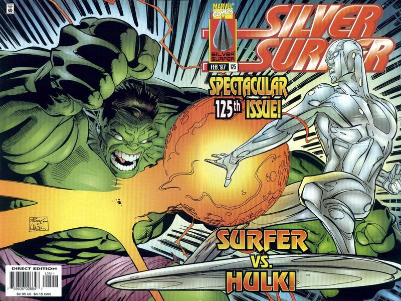 Cover for Silver Surfer (Marvel, 1987 series) #125