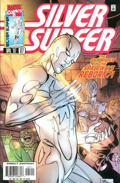 Cover for Silver Surfer (Marvel, 1987 series) #127