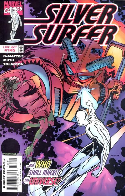 Cover for Silver Surfer (1987 series) #145