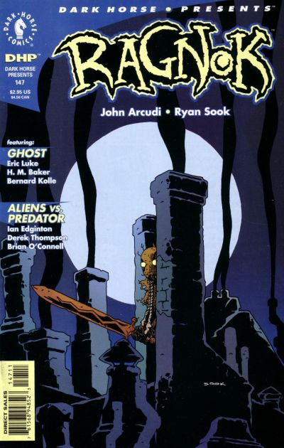 Cover for Dark Horse Presents (1986 series) #147
