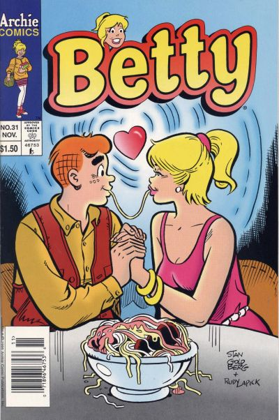Cover for Betty (Archie, 1992 series) #31