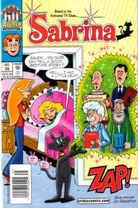 Cover for Sabrina (Archie, 2000 series) #35