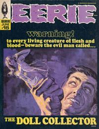 Cover for Eerie (1966 series) #15