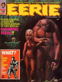 Cover for Eerie (Warren, 1966 series) #32