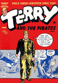 Cover Thumbnail for Terry and the Pirates Comics (Harvey, 1947 series) #4