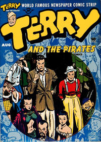 Cover Thumbnail for Terry and the Pirates Comics (Harvey, 1947 series) #5