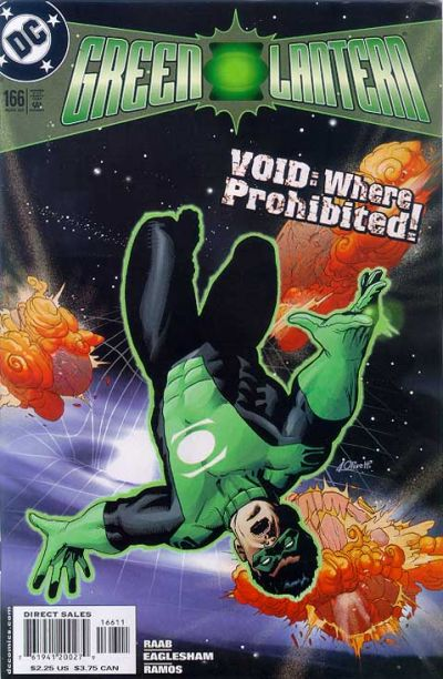 Cover for Green Lantern (DC, 1990 series) #166