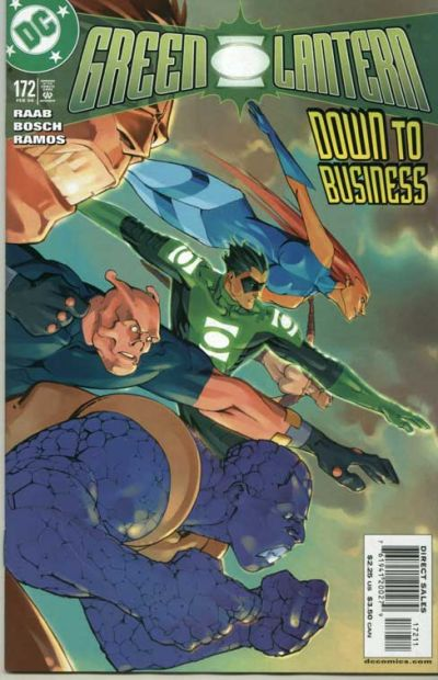 Cover for Green Lantern (1990 series) #172
