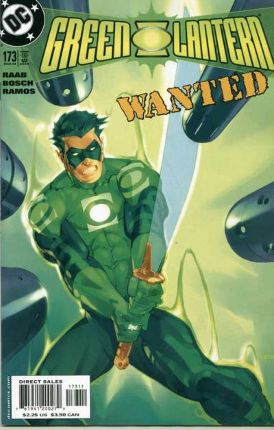 Cover for Green Lantern (1990 series) #173