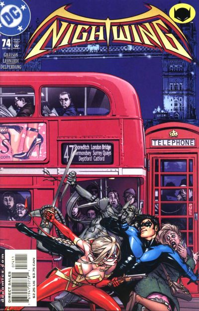 Cover for Nightwing (DC, 1996 series) #74