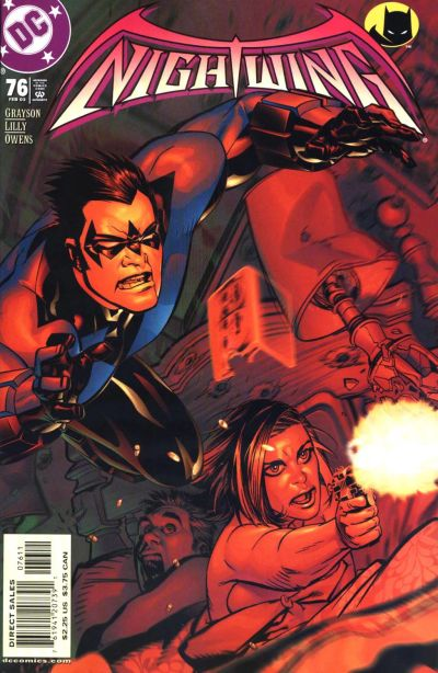 Cover for Nightwing (DC, 1996 series) #76