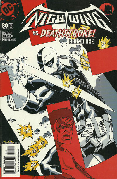 Cover for Nightwing (DC, 1996 series) #80