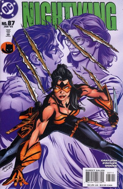 Cover for Nightwing (1996 series) #87