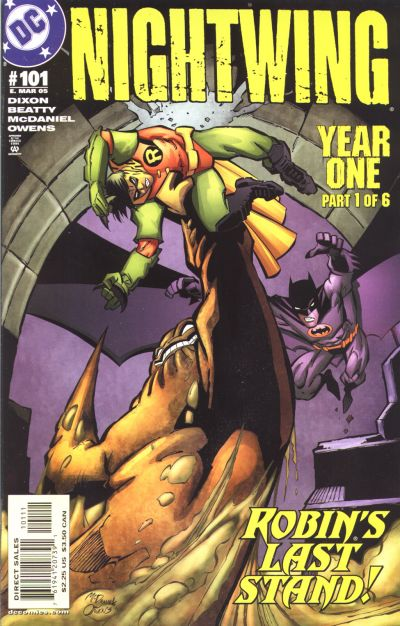 Cover for Nightwing (DC, 1996 series) #101