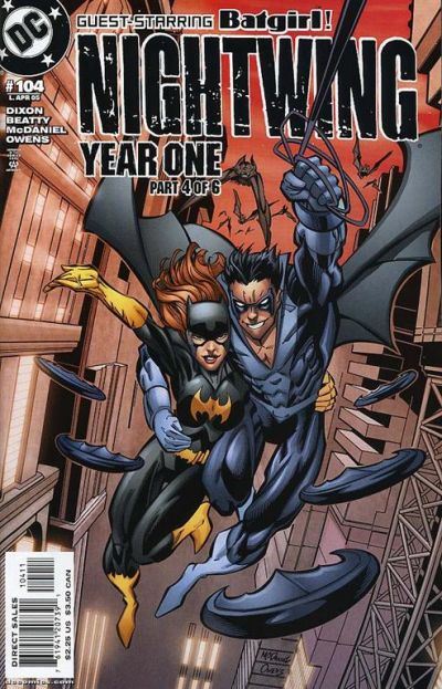 Cover for Nightwing (DC, 1996 series) #104