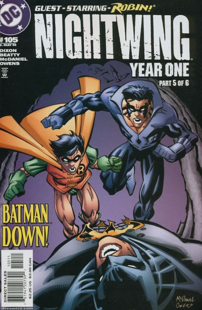 Cover for Nightwing (DC, 1996 series) #105
