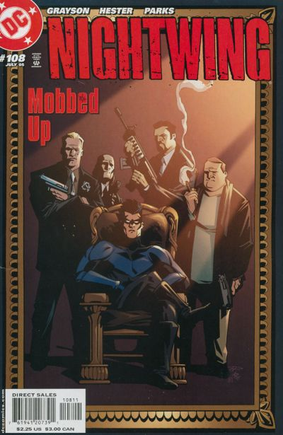 Cover for Nightwing (DC, 1996 series) #108