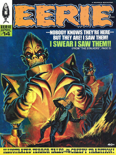 Cover for Eerie (Warren, 1966 series) #14