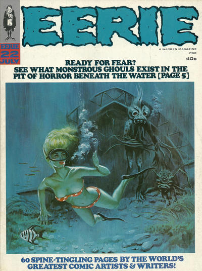 Cover for Eerie (Warren, 1966 series) #22