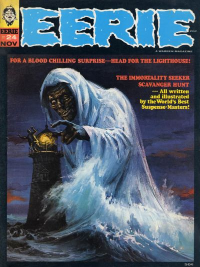 Cover for Eerie (Warren, 1966 series) #24